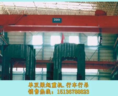 江西宜春行车行吊厂家尤为关注的一些小细节