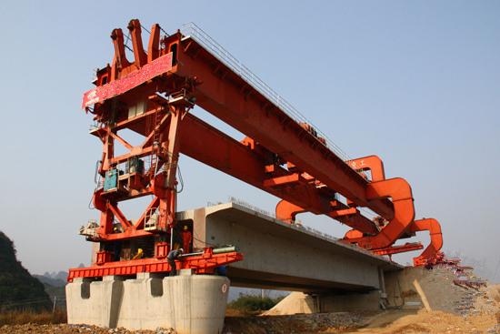 宁夏银川50m200t架桥机租赁