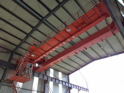 安徽铜陵行车行吊厂家生产单梁起重机