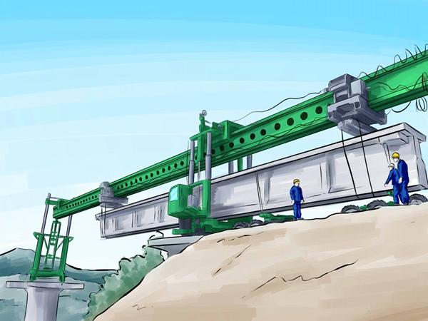 重庆160吨铁路架桥机厂家可过隧道
