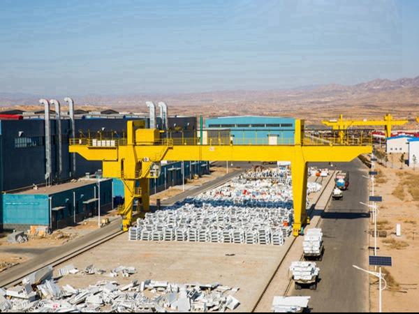 江西宜春100吨门式起重机厂家真心连接你我