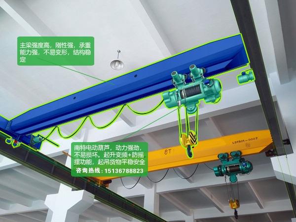 湖南岳阳30吨桥式起重机厂家价格没话说