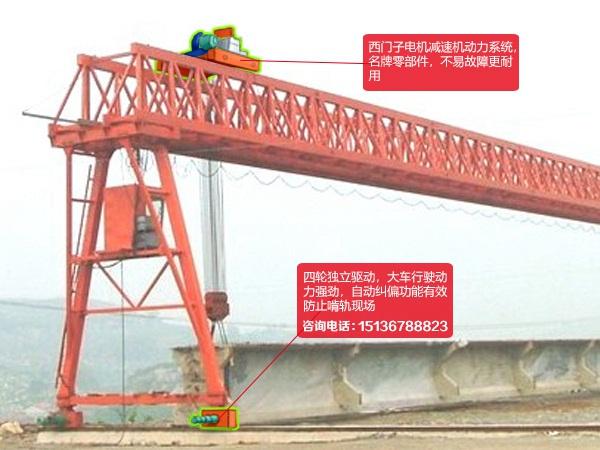 云南迪庆60吨门式起重机厂家深受用工方喜爱